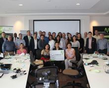 Attendees to the Lunch & Learn Event sponsored by Windstream Sept. 17th, 2014 in Miami, FL.